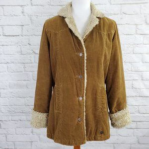 Abercrombie & Fitch Vintage Sherpa Lined Jacket